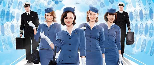 Christina Ricci stars in new BBC drama 'Pan Am'
