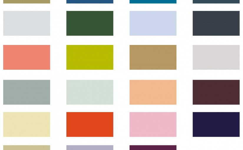 Colours from PV SS16
