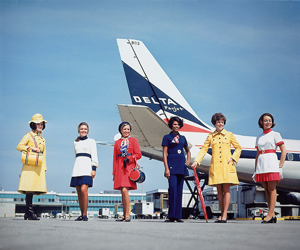 Flight Attendant uniforms 1970-73