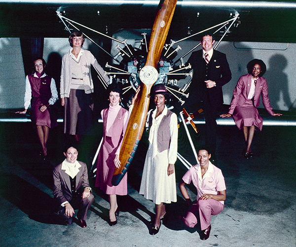 Flight Attendant Uniforms, 1979-1983