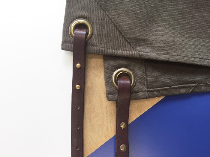 Melton Mowbray Leather Straps Made in England Aprons Uniform Design