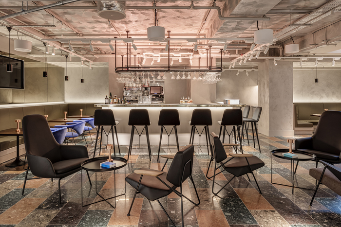 Wallpaper* Bar + Kitchen (London, UK) Virgile + Partners