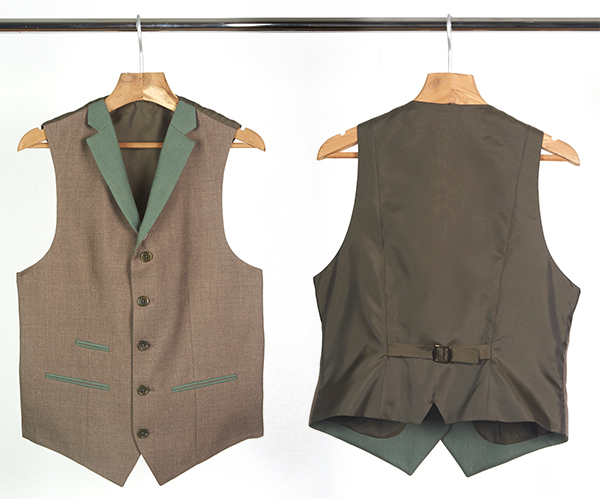 Paternoster Chop House Waistcoat Field Grey First Dates London