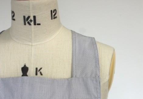 Ready Wear by Field Grey, Classic bib apron cross-back