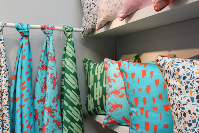 Texture and Textiles: Day 3 at London Design Fair