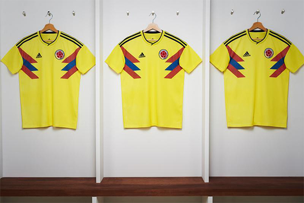 Adidas FIFA World Cup 2018 Kit Colombia