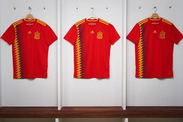 Adidas FIFA World Cup 2018 Kit Spain