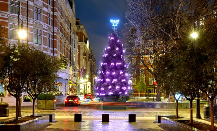 Connaught Christmas Tree Tracey Emin