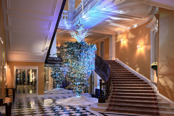 Claridges Karl Lagerfeld Christmas Tree