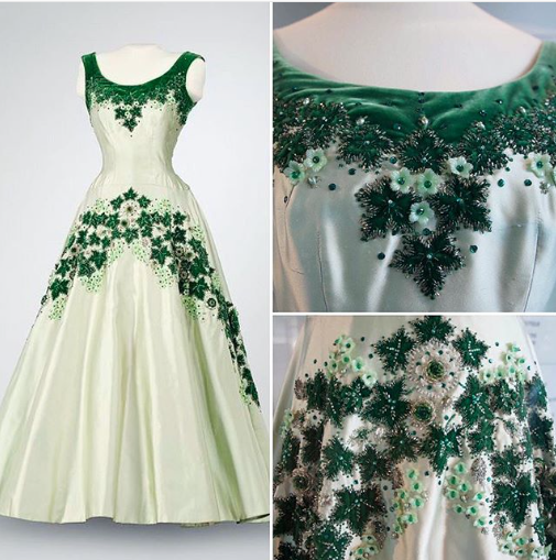Norman Hartnell The Queen Maple Dress Canada