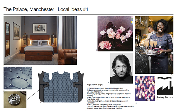 Principal Hotels Field Grey Mood Board