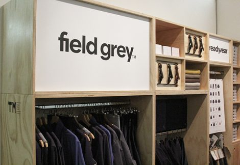 Field Grey Readywear London Design Fair