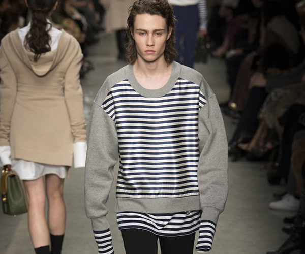 Nautical Stripe Catwalk Burberry