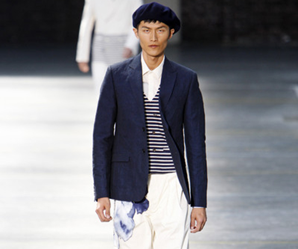 Nautical Stripe Catwalk Kenzo
