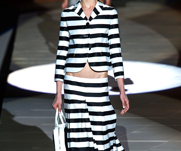 Nautical Stripe Catwalk Marc Jacobs