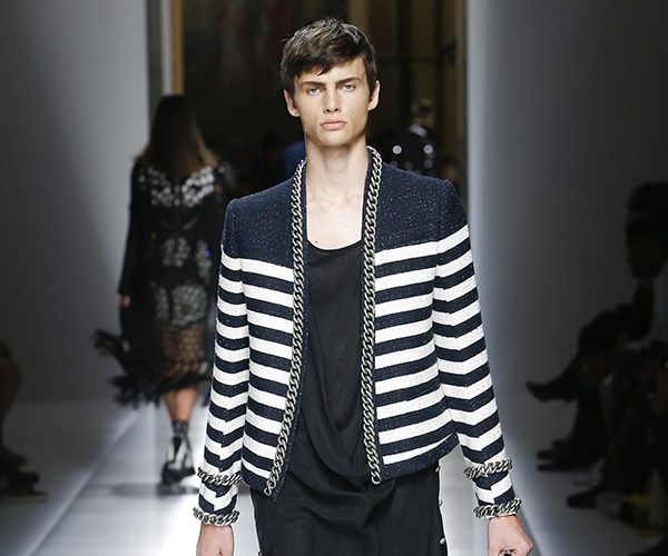 Nautical Stripe Catwalk Balmain