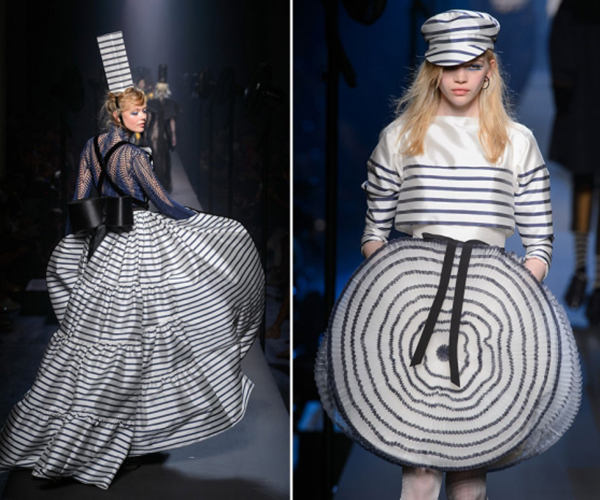 Nautical Stripe Catwalk Jean Paul Gaultier