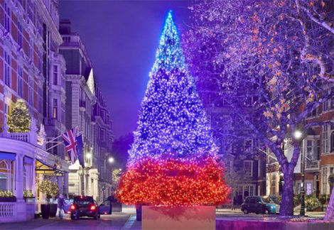 London Christmas The Connaught Michael Craig Martin