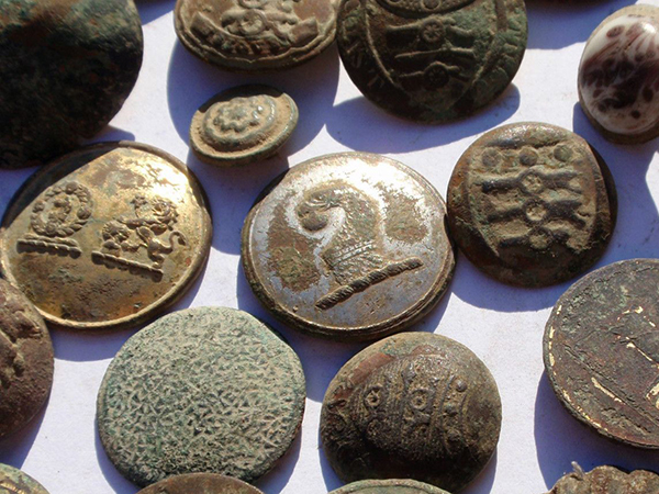 Middle Ages Button Buttons