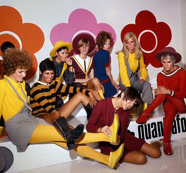 Mary Quant Afoot