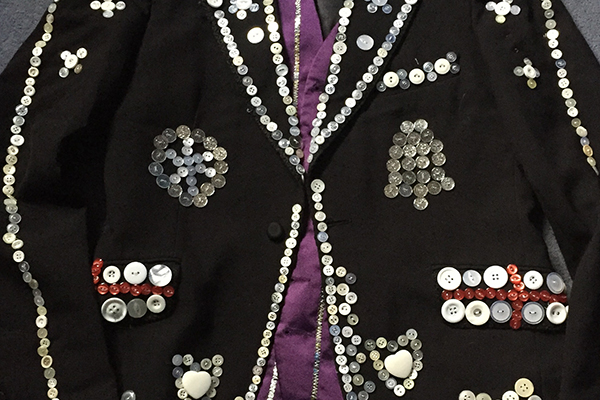Pearlyv King Jacket Buttons Button