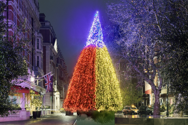 London's best Christmas decorations The Connaught